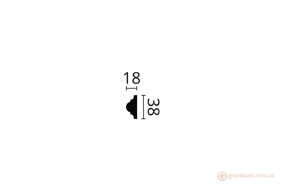 Молдинг с орнаментом NMC WO2 (2,44)