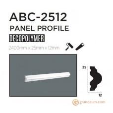 Молдинг с гладким профилем Decolux ABC2512