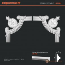 Угловые элементы и вставки Европласт 1.52.284