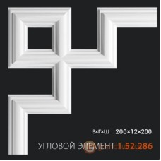 Угловые элементы и вставки Европласт 1.52.286