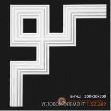 Угловые элементы и вставки Европласт 1.52.287