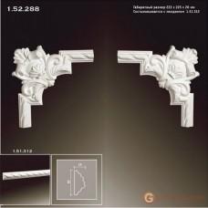 Угловые элементы и вставки Европласт 1.52.288 Уголок У-288