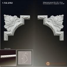 Угловые элементы и вставки Европласт 1.52.292 Уголок У-314 Левый