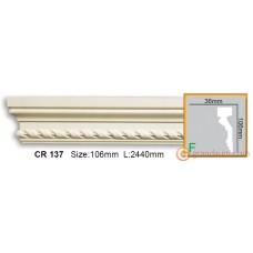 Молдинг гибкий Gaudi Decor CR137 (2,44) Flex