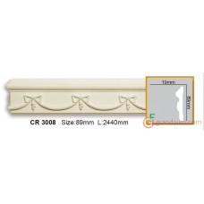 Молдинг гибкий Gaudi decor CR3008 (2,44м) Flexi