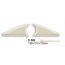 Декоративное обрамление, для дверных проемов Gaudi Decor D582