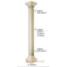 Колонны и полуколонны Gaudi Decor L930-2 тело