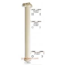 Колонны и полуколонны Gaudi Decor L9301 тело-Half