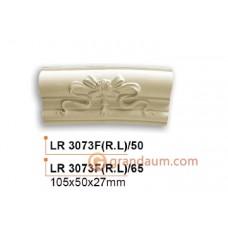 Молдинг радиусный Gaudi Decor LR 3073F(L)/50 вставка фронтальная