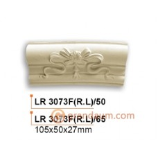 Молдинг радиусный Gaudi Decor LR 3073F(L)/65 вставка фронтальная