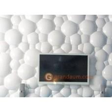 3D панель Сфера 400х400х16 мм вогнутая