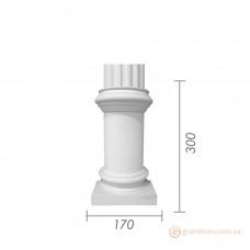 База для гипсовой колонны б-1 (1/2)