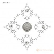 Наборная розетка из гипса Нр-инд. 8 диаметр 1860 мм