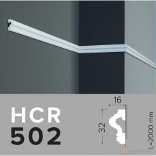Молдинг с гладким профилем Grand decor HCR 502 (2,00м)