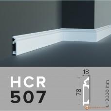 Напольный плинтус гибкий HCR 507 (2,00м) Flex
