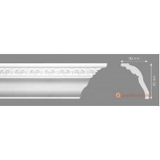 Потолочный плинтус с орнаментом, багет Homestar Alla 90*90ММ