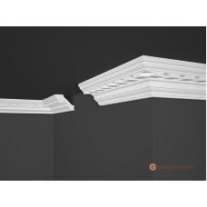 Потолочный плинтус с орнаментом, багет Marbet B15 80*61MM