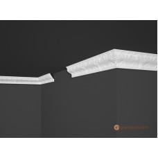 Потолочный плинтус с орнаментом, багет Marbet B16 43,7*63MM