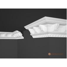 Потолочный плинтус с орнаментом, багет Marbet B22 96*98MM