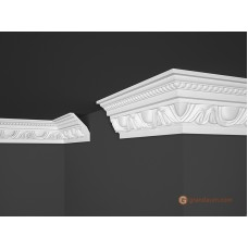Потолочный плинтус с орнаментом, багет Marbet B24 70*90MM