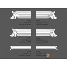 Угловые элементы и вставки Modus decor В 007