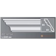 Карниз с гладким профилем Perimeter PC-0754