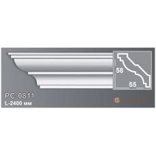 Карниз с гладким профилем Perimeter PC-0811