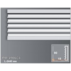 Декоративное обрамление, для дверных проемов Perimeter PM-4906CA