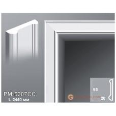 Декоративное обрамление, для дверных проемов Perimeter PM-5207CC