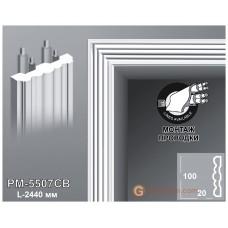 Декоративное обрамление, для дверных проемов Perimeter PM-5507CB