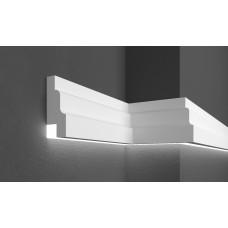 Молдинг фасадный для скрытого освещения Prestige decor MC 302LED (2.00м)
