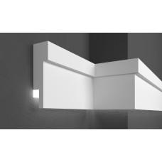 Молдинг фасадный для скрытого освещения Prestige decor MC 305LED (2.00м)