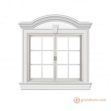Обрамление окон для фасада решение 5