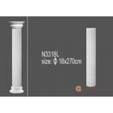 Колонны и полуколонны Солид N3318 L 2,7m