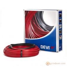 Нагревательный кабель DEVI Devi-Hotwatt двужильный (55м, зелёный)