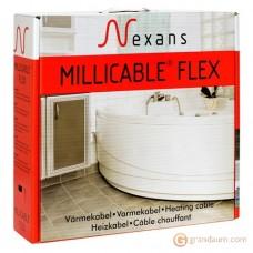 Нагревательный кабель Nexans MILLICABLE двужильный (10м, FLEX/2R 100/10)