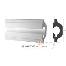 Карниз для скрытого освещения Tesori KD119 (1.15м)