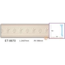 Колонны и полуколонны Vip decor ET-8670