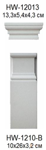 Декоративное обрамление, для стен Classic home HW1210-B