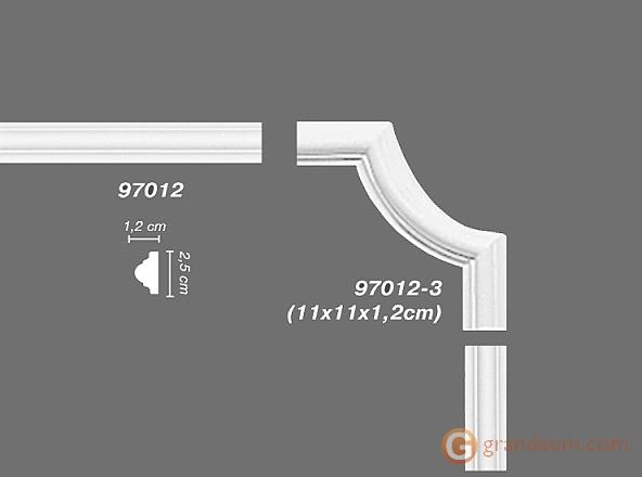 Угловые элементы и вставки Decomaster 97012-3