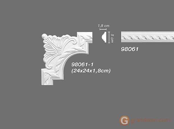 Угловые элементы и вставки Decomaster 98061-1