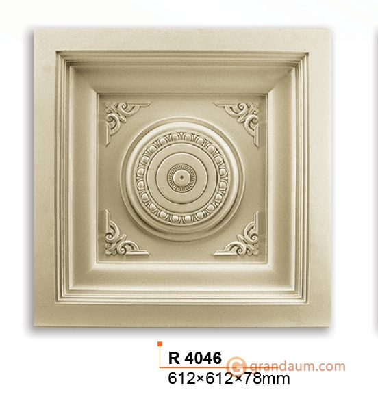 Потолочная плита Gaudi Decor R4046