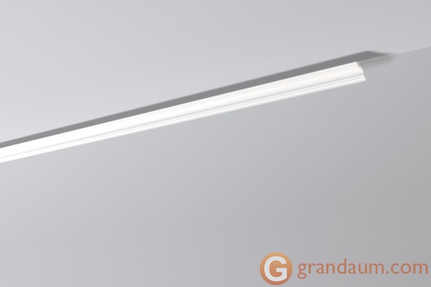 Потолочный плинтус с гладким профилем NMC A3