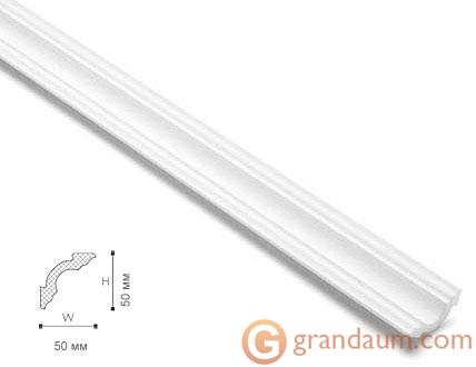 Потолочный плинтус с гладким профилем NMC A2