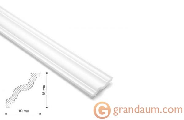 Потолочный плинтус с гладким профилем NMC GR
