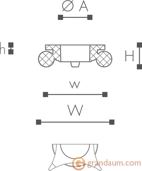 Базы и капители NMC HCS1