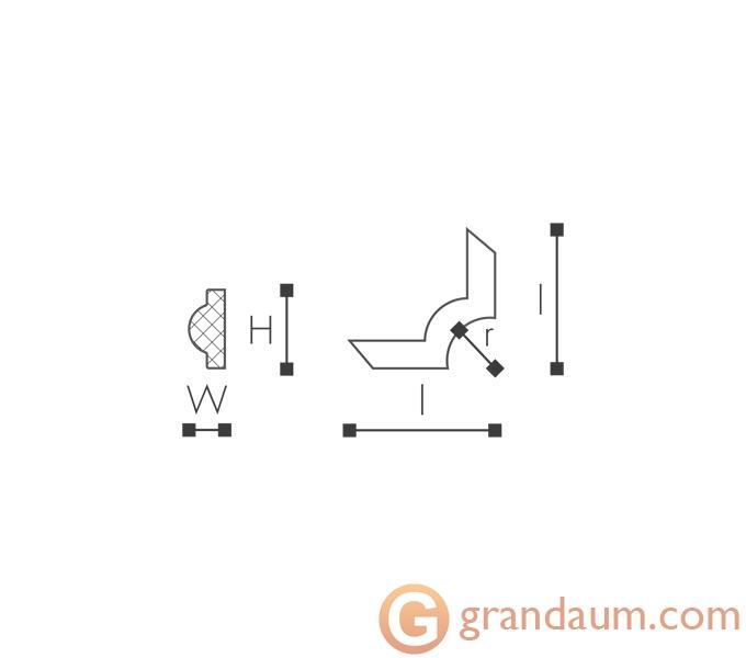 Угловые элементы и вставки NMC SP2-4