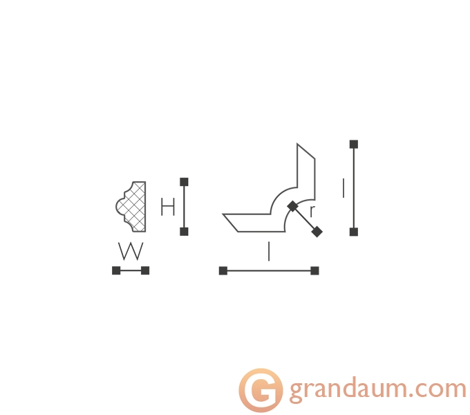 Угловые элементы и вставки NMC SP3-3