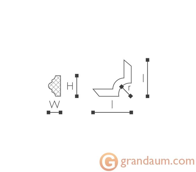Угловые элементы и вставки NMC SP3-7