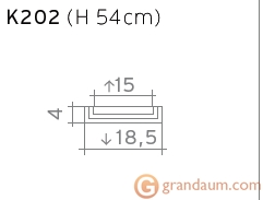 Пилястра Orac Decor K202